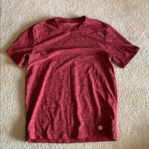 Maroon flex stretch Express tee